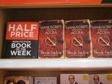Manuscript Found in Accra WHSmith Offer of the Week