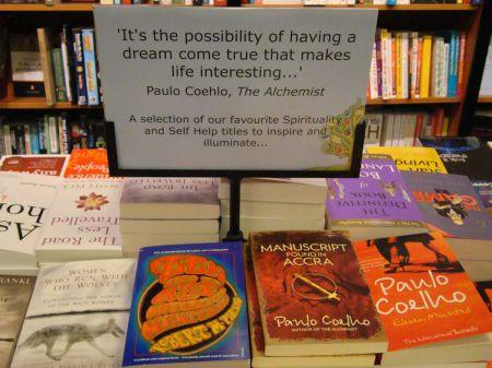 Paulo Coelho Waterstone's