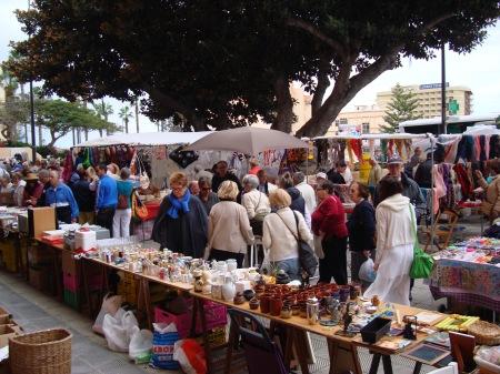 Rastro en el Mercado