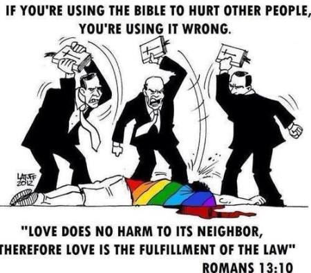 Bible bashing