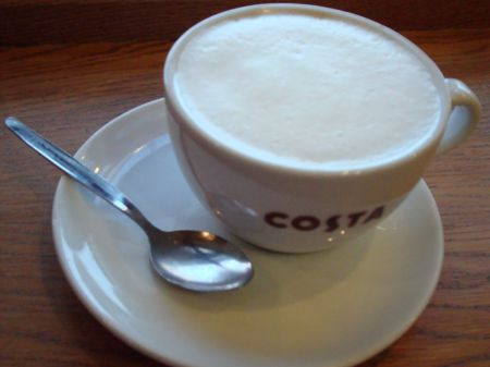 WTF vile disgusting cappuccino (?) at Costa