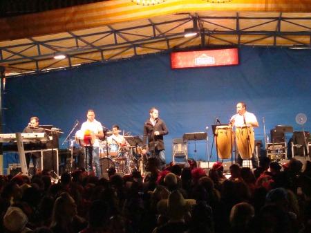 La Carnaval en Puerto de la Cruz: main stage