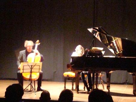concert Mark Peters and Kristztina Fejes