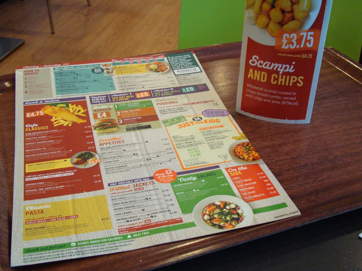 blatant rip off verging on fraud & Morrisons café: confusion pricing and over-complex menu | Keithpp\u0027s Blog