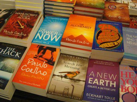 Waterstone's Guildford Paulo Coelho books
