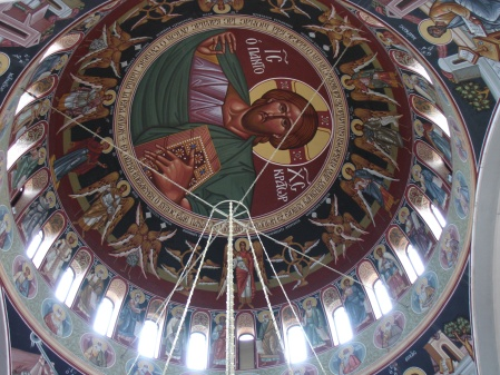 dome of Church of Virgin Mary