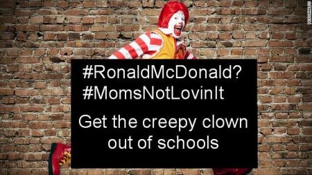 kick the Fat Clown out of schools