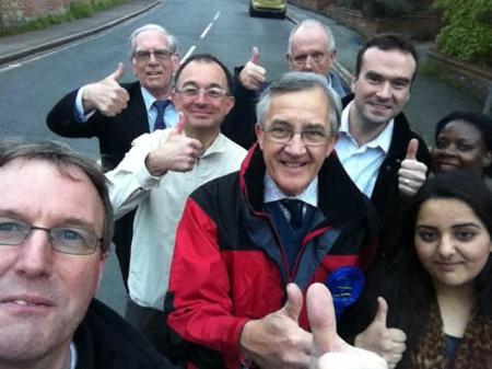 local councillors on an  outing