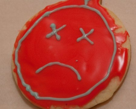 sad cookie