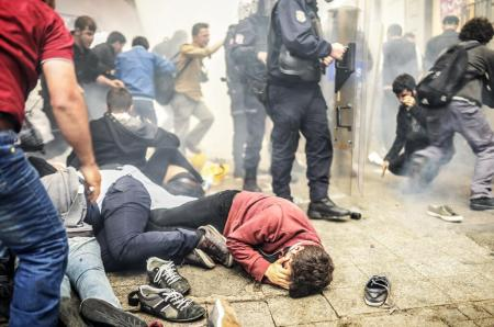 Taksim Square one year on