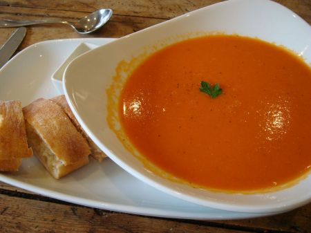 tomato and celery soup
