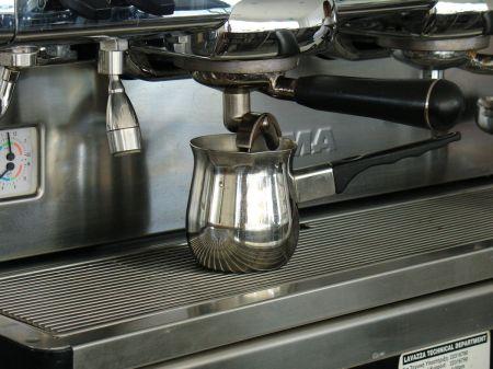 two shots of espresso