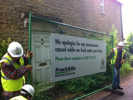 Greenpeace frack David Cameron