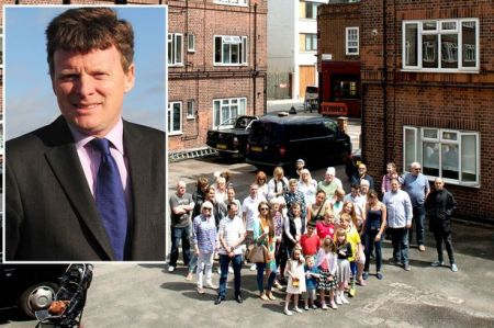 Richard Benyon and a community furious over rent hikes