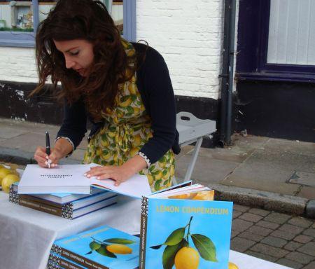 Yasemen Kaner-White book signing