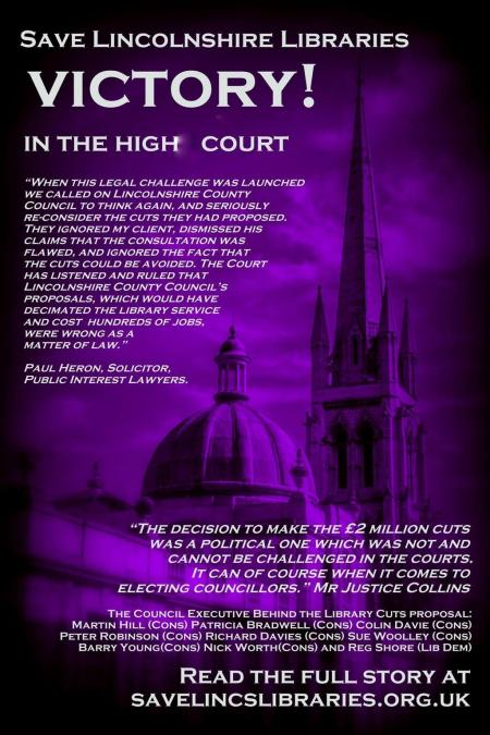 Lincs High Court victory