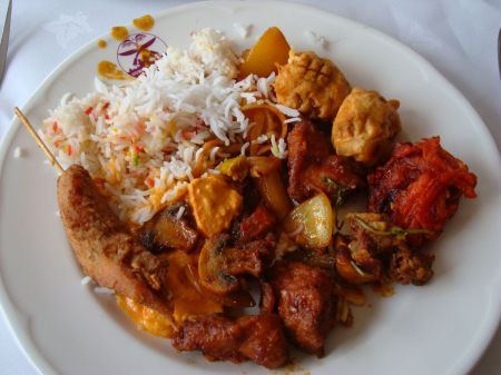 lunch at Nepalese restaurant