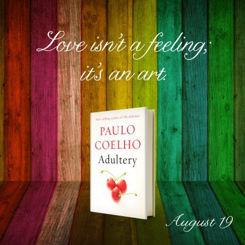 Whsmith aldershot paulo coelhos latest book keithpps blog adultery love isnt a feeling reheart Images