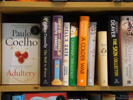 Adultery Waterstone's Farnham latest hardbacks