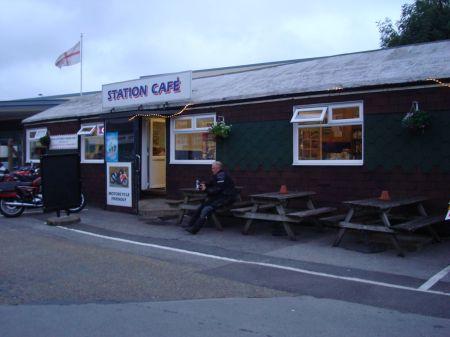 Station Cafe black shed