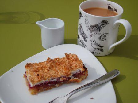 afternoon tea at Café Mila