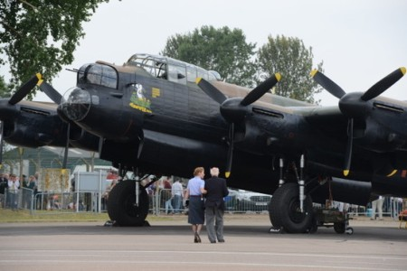 Lancaster of Battle of Britain Memorial Flight