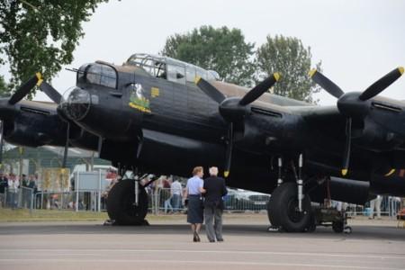 Lancaster of Battle of Britain Memorial Flight