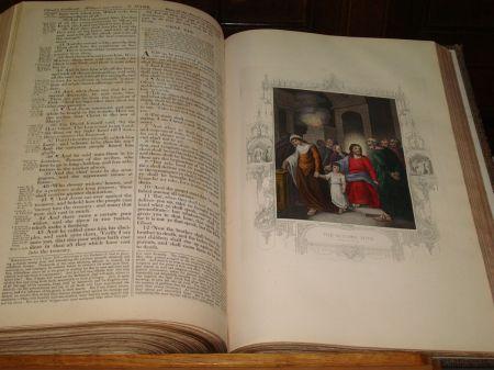 old Bible in Parish Church