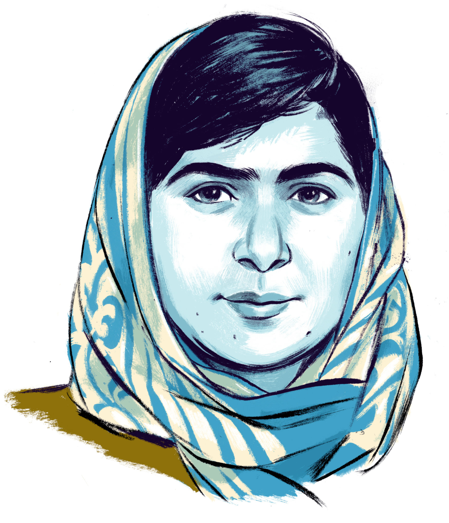 What I Blog About When I Blog About Books Notd Girl On: Malala Yousafzai: By The Book