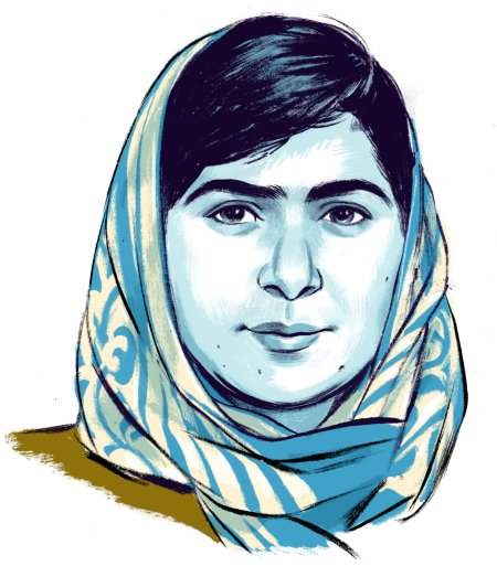 Malala Yousafzai Credit Illustration by Jillian Tamaki