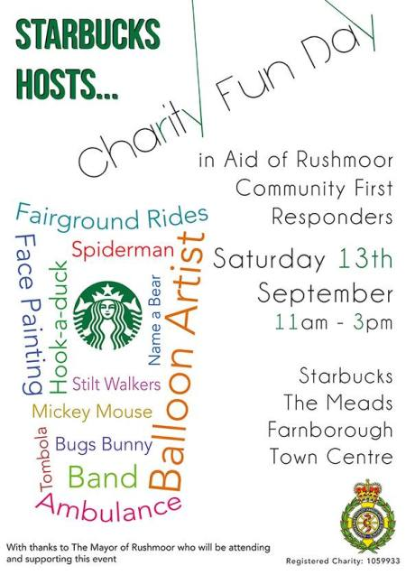 Starbucks hosts ... charity fun day
