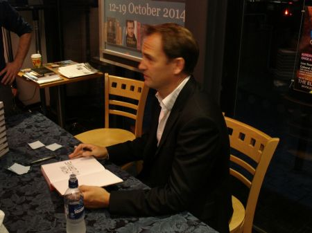 Ben Collins aka Stig at Guildford Book Festival