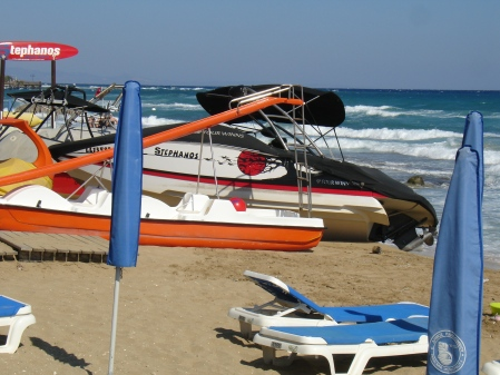 boats beached