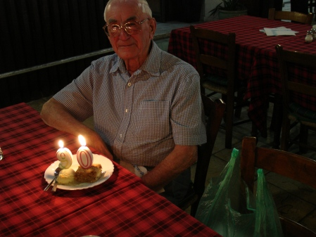 Harry Parkins Birthday at 90