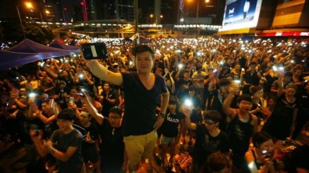 net-savvy Hong Kong activists