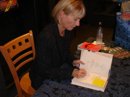 Kate Mosse book signing