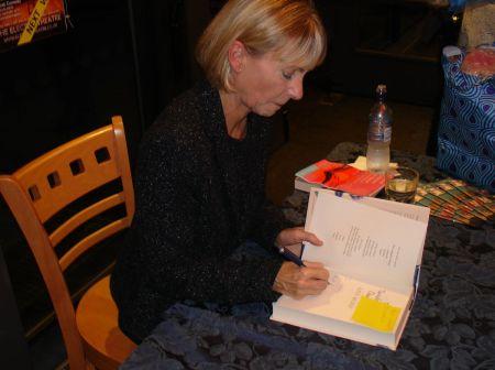 Kate Mosse book signing