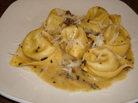 mushroom tortellini