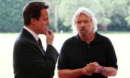 David Cameron flogs East Coast Mainline to Richard Branson