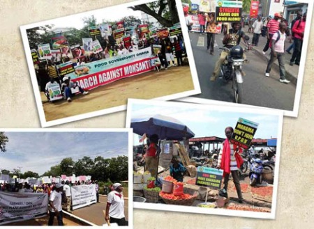 Ghana protests Monsanto Law