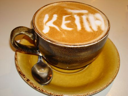 personalised cappuccino
