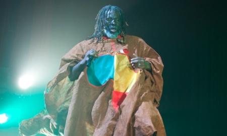Tiken Jah Fakoly in concert at l'Olympia