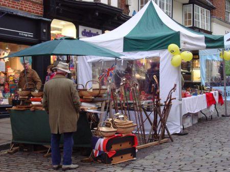 Guildford farmers market December