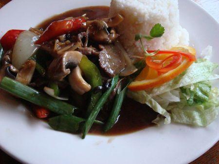 lunch at Thai restaurant