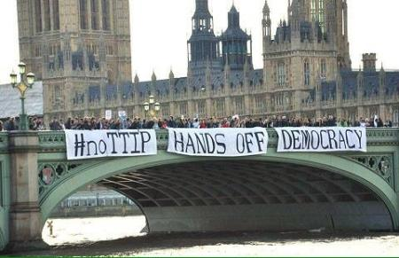 #noTTIP Hands off Democracy