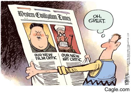 Charlie Hebdo art critic