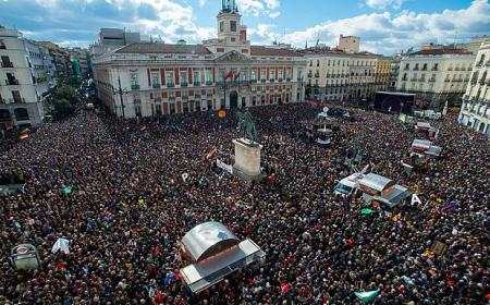 Podemos anti-austerity rally