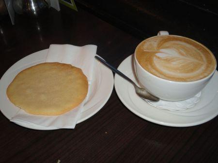 cappuccino at Stokes on High Bridge