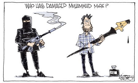 Who has damaged Muhammad more