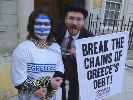 Break the Chains of Greece's Debt